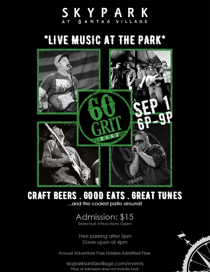 Live Music - The 60 Grit Band