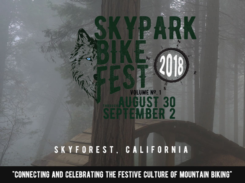 SkyPark Bike Fest 2018 - Places to ride in Lake Arrowhead - SkyPark at Santa's Village