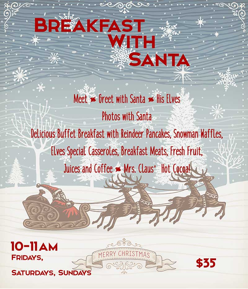 Breakfast with Santa - Things to do in Lake Arrowhead - SkyPark at Santa's Vllage