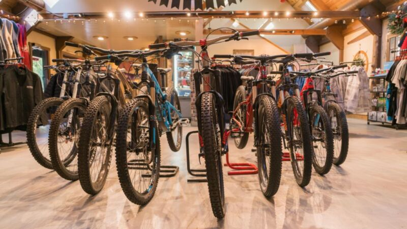 Adventure Center - Bike Fleet - SkyPark at Santa's Village