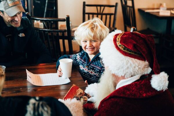 Special Holiday Experiences - Breakfast with Santa - SkyPark at Santa's Village