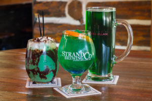 Shenanigan adult beverages for St. Patrick's Day in Lake Arrowhead