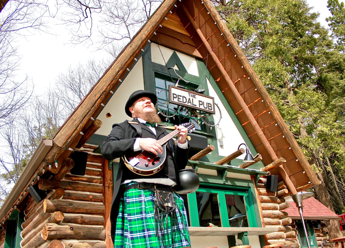St. Patrick's Day in Lake Arrowhead