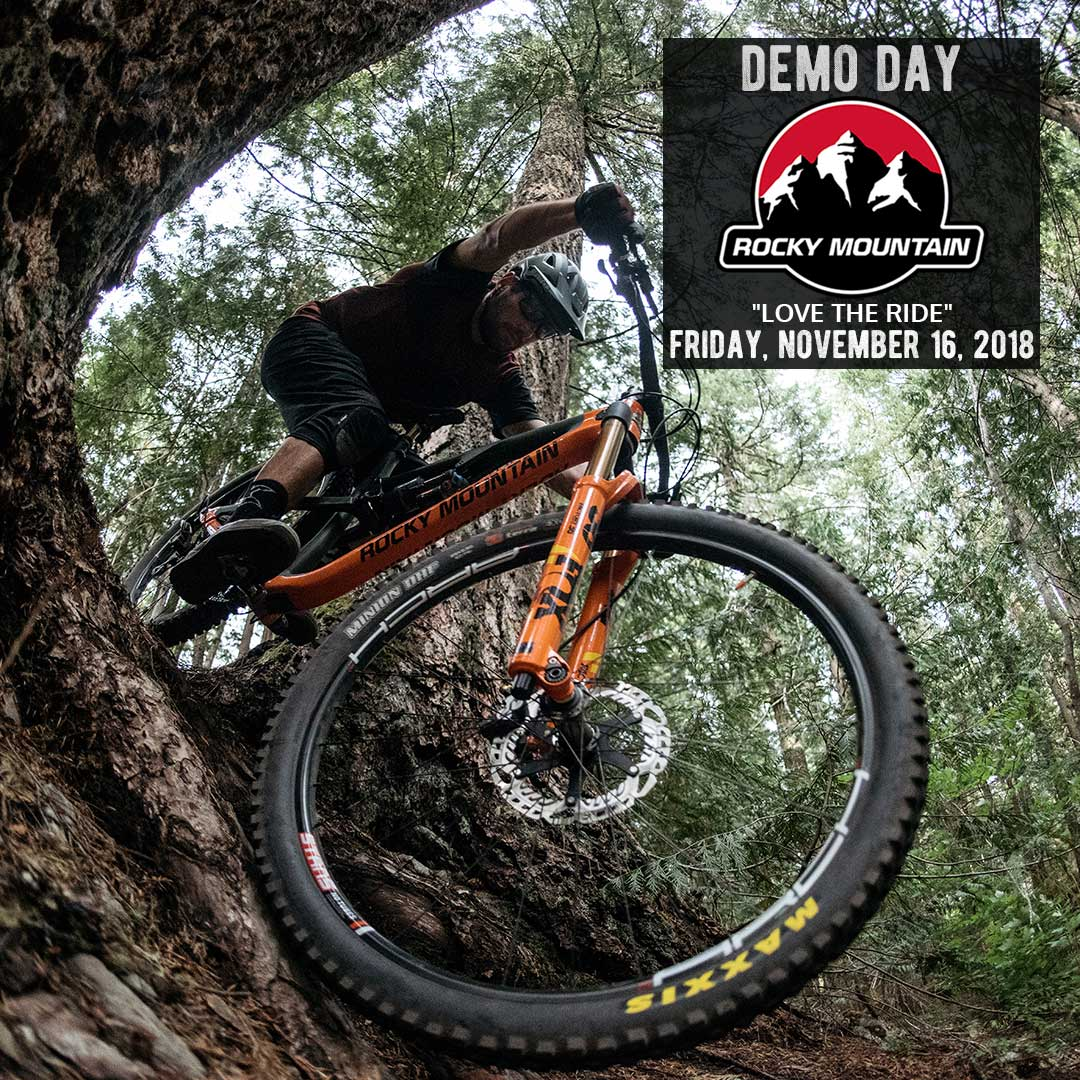 Rocky Mountain Demo Day - Lake Arrowhead Mountain Biking - SkyPark at Santa's Village