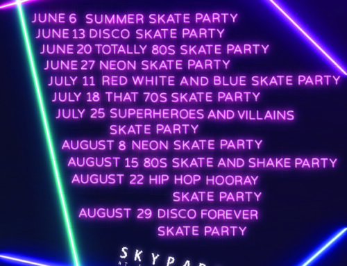 SkyPark Summer Skate Nights 2020