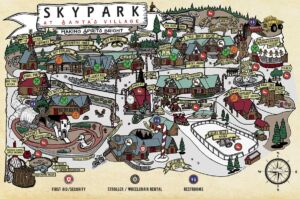SkyPark at Santa's Village Map