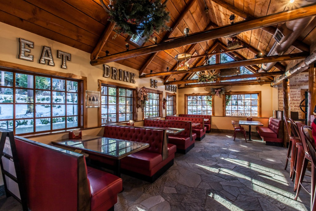 St. Nick's Patio & Grill - Lake Arrowhead Restaurants - SkyPark at Santa's Village
