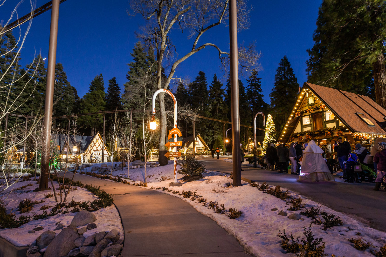 Christmas Lake Village Festival Of Lights 2020 A Magical Christmas   Lake Arrowhead   SkyPark at Santa's Village