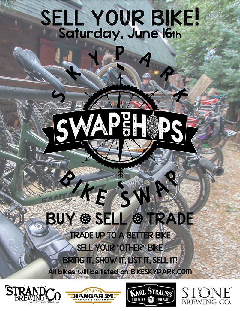 Swaps and Hops - Buy, sell or Trade Bikes - SkyPark at Santa's Village