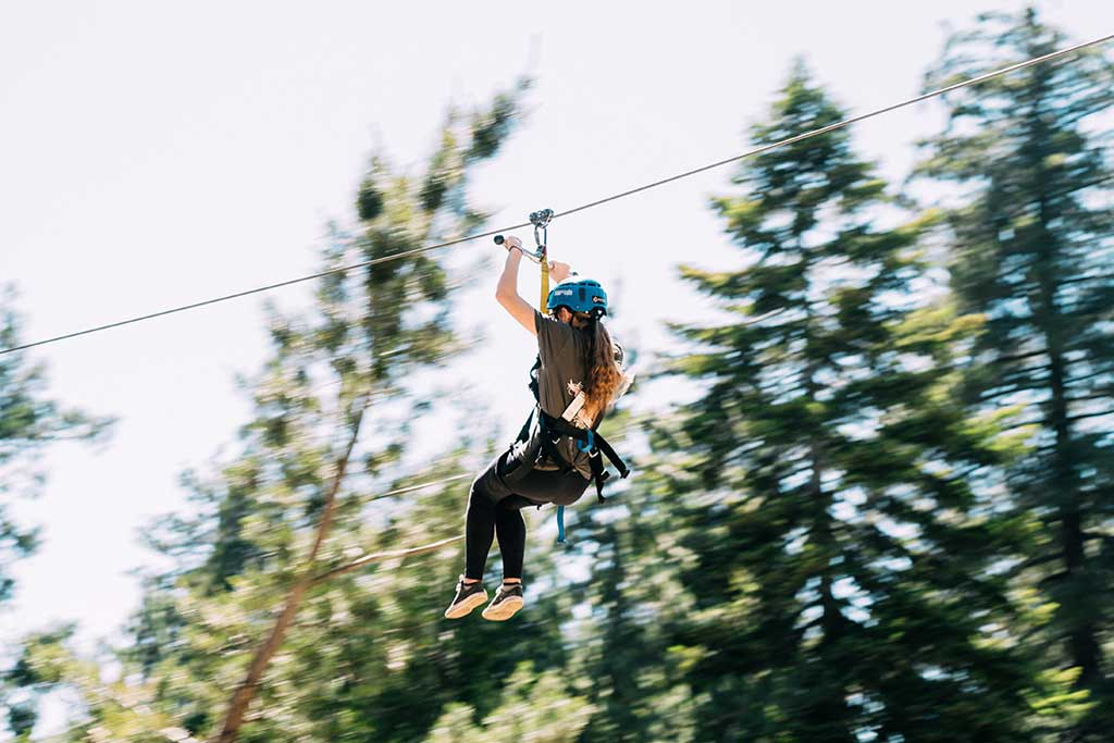 Adventure Zipline - SkyPark at Santa's Village