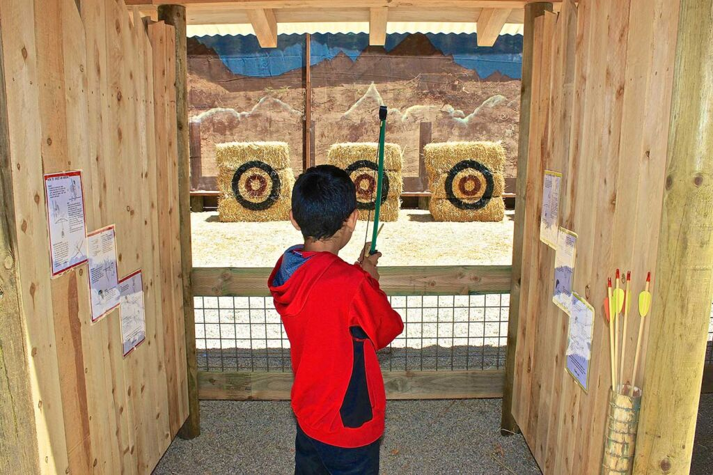 The Serrano Archery Range - Santa's Village Attractions