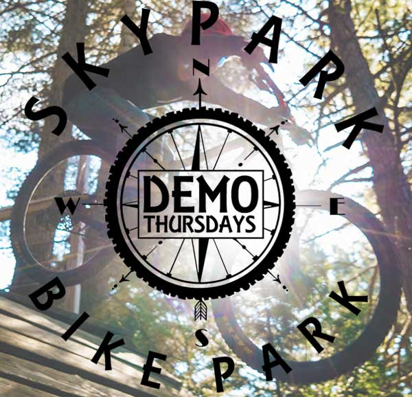 Bike Park - Demo Thursdays - Lake Arrowhead Mountain Biking - SkyPark at Santa's Village