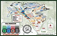 Bike Park Map - Places to ride in Lake Arrowhead - SkyPark at Santa's Village