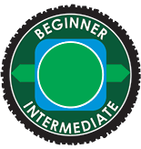 SkyPark Bike Park Beginner/Intermediate Trail Logo