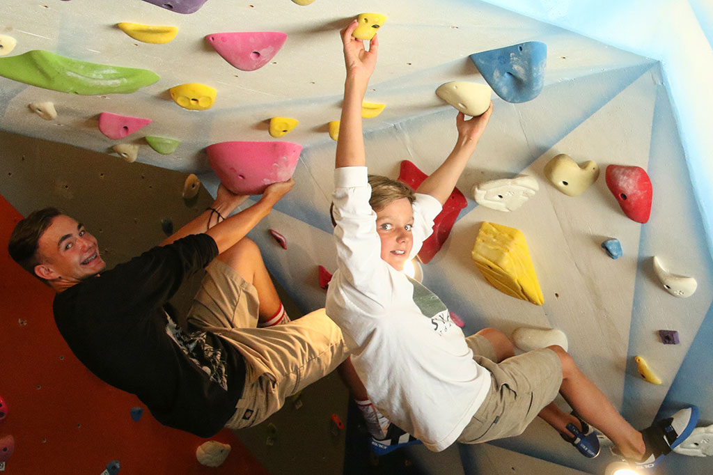 The Magic Tree Bouldering Room - SkyPark at Santa's Village