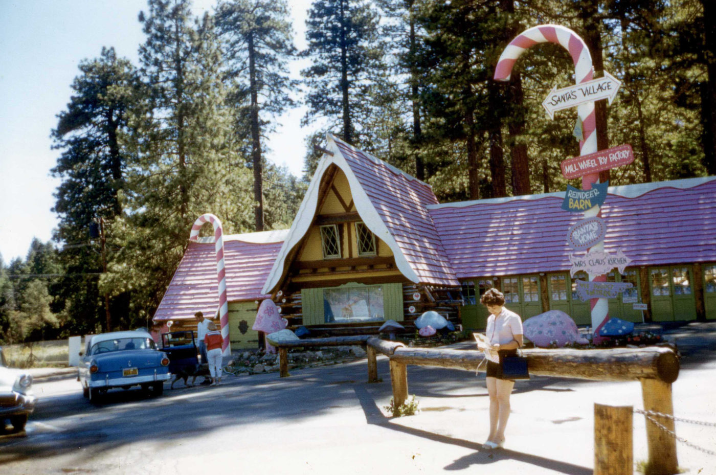 About us - SkyPark at Santa's Village History - Things to do in Lake Arrowhead