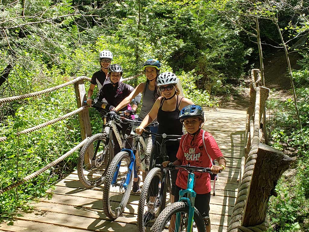 Clinics with Pro Leigh Donovan – Beginner & Intermediate Skills – Places to ride in Lake Arrowhead – SkyPark at Santa's Village