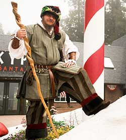 Northwoods Characters - King Celwyn Claus - SkyPark at Santa's Village
