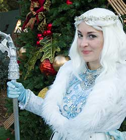 Northwoods Characters - Princess Snowfall - SkyPark at Santa's Village