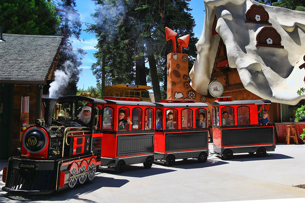 Northwoods Express Train Ride - Things to do in Lake Arrowhead - SkyPark at Santa's Village