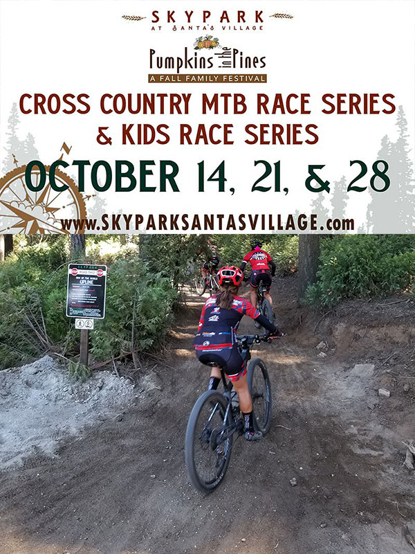 Pumpkins in the Pines XC MTB Race Series
