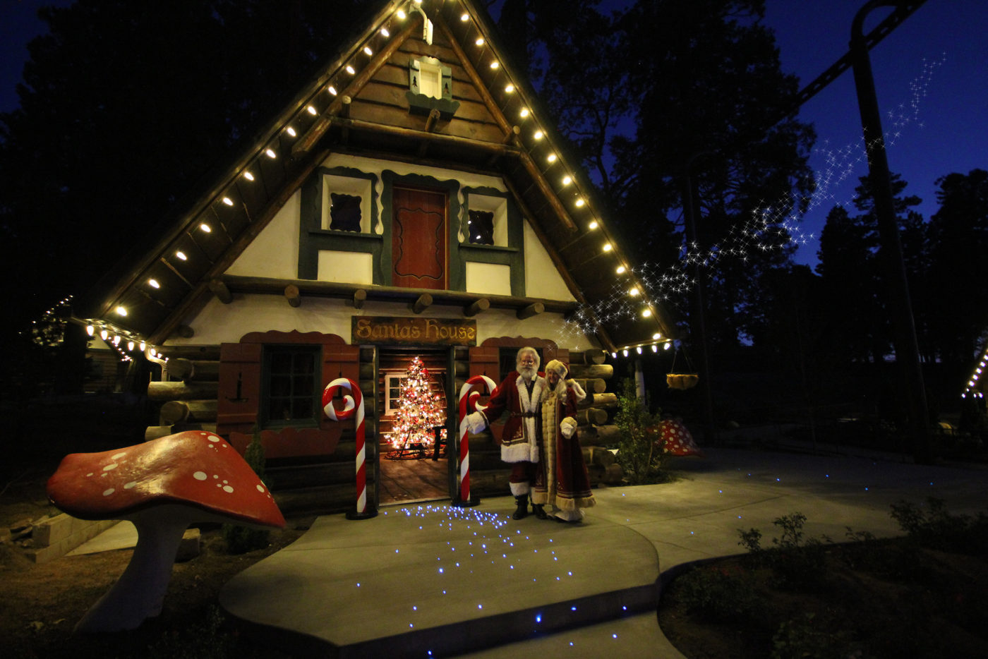 Santa's House and North Pole - SkyPark at Santa's Village