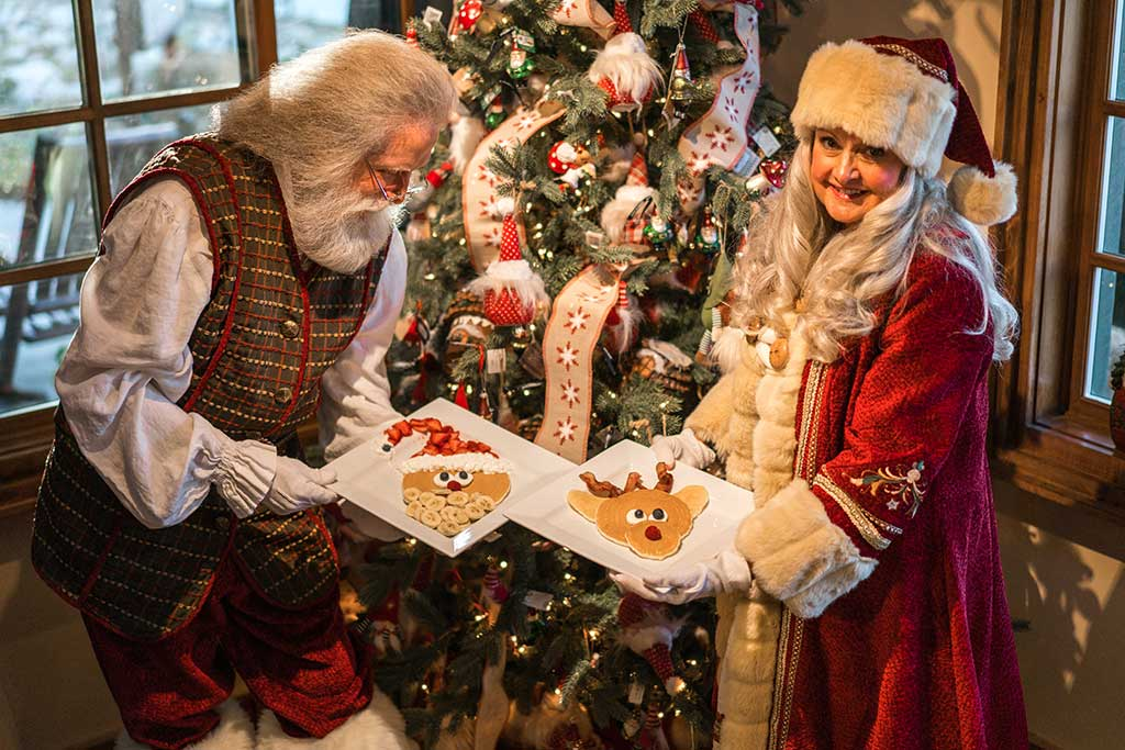 Special Experiences with Santa and Mrs. Claus - Lake Arrowhead Attractions - SkyPark at Santa's Village