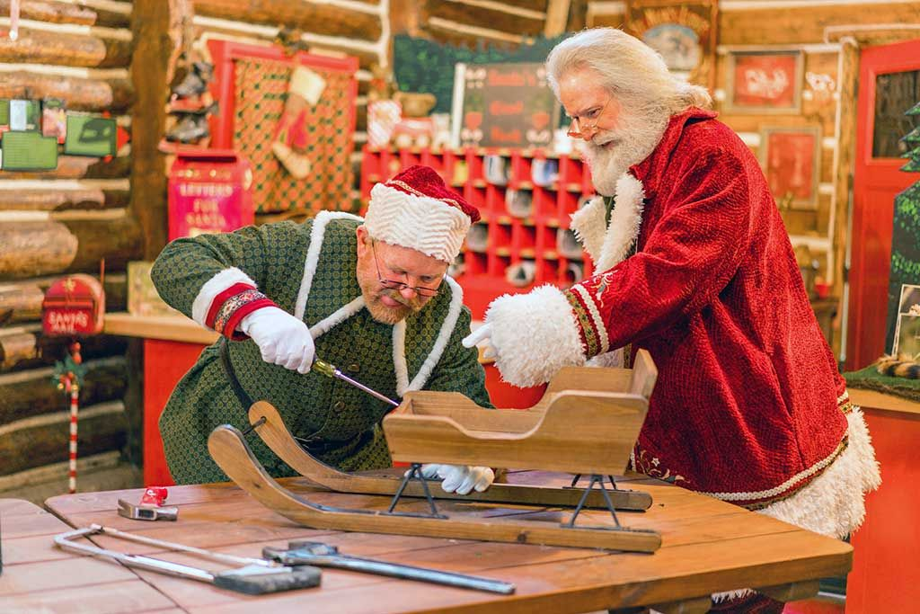 Santa's Village Attractions - Santa's Workshop and North Pole Post Office