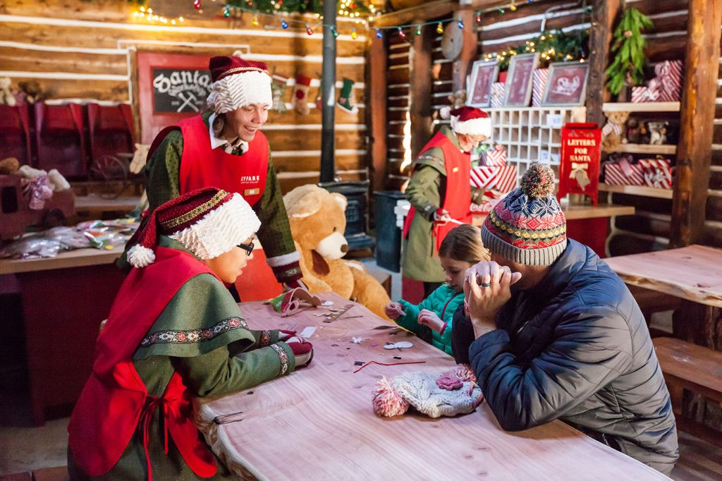 Crafting with Santa's Elves - Lake Arrowhead Attractions - SkyPark at Santa's Village
